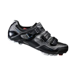 Shimano 2015 Men's XC Racing Performance Mountain Bike Shoes - SH-XC61L (Black - (Bike Racing Shoe)