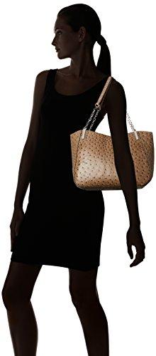 M Bag Emilie Chain Nancy Pattern Mink Ostrich Ostrich Shoulder HwRqw