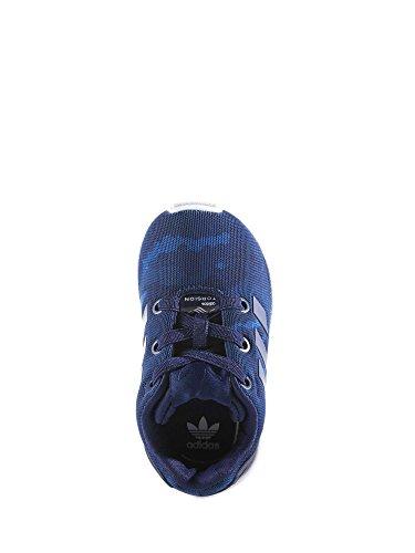 Zapatilla Sportwear Infantil Adidas Zx Flux Azul Azul