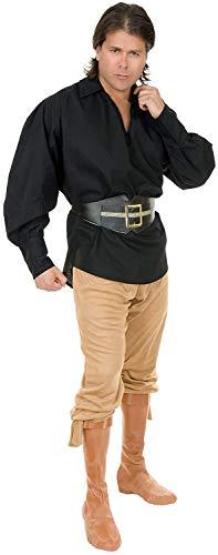 Unisex Pirate Shirt Costume - Large - Chest Size 42