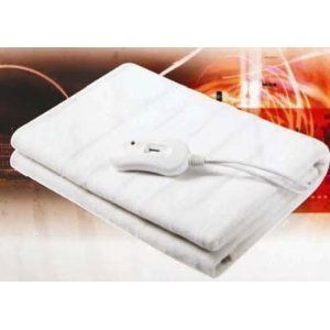 BRAND NEW DOUBLE BLANKET BED SHEET HEATED THROW ELECTRIC UNDER
