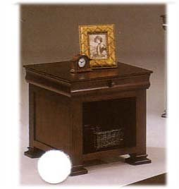 Cherry Finish Louis Phillipe Style End Table By Coaster ()