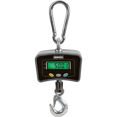 Roughneck Digital Hanging Scale - 1,100-Lb. Capacity