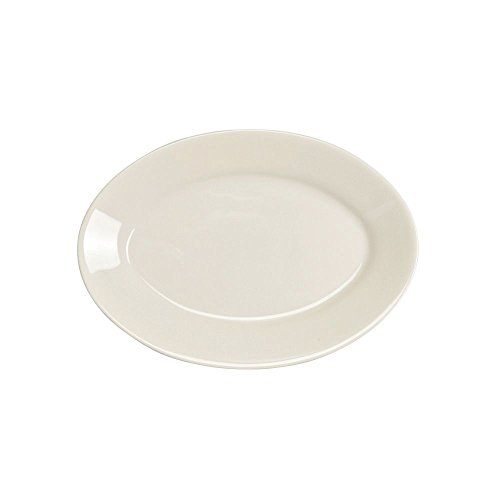 Cs White Undecorated Dinnerware - Homer Laughlin 15100 Undecorated Oval 7.25