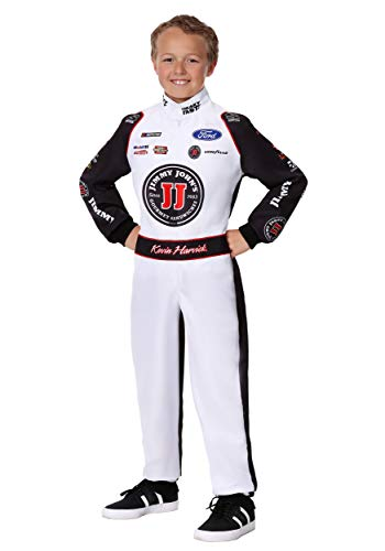 Child #4 Kevin Harvick(R) Jimmy John's Uniform Costume Large -