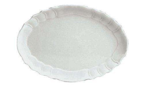 Oval Platebarocco Porcelain