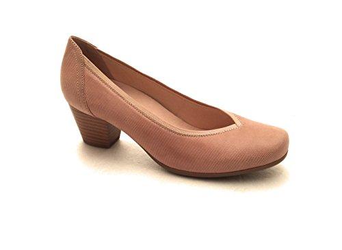 Caprice Zapatos de Vestir de Piel Para Mujer Beige Beige