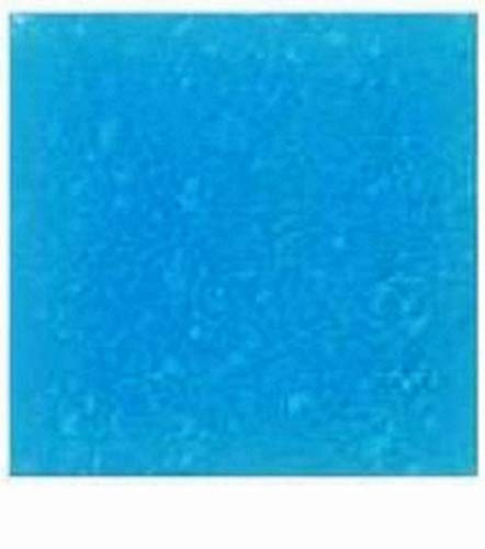 (Glass Mosaic Tiles for Art DIY Crafts - 25 Tiles - 3/4 inch Sky Blue Vitreous - for Indoor or Outdoor Mosaic Art Projects )