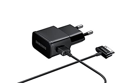 Samsung BT-ETAU90EBE - Cargador de red para Samsung Galaxy Note/Tab/Tab 2 (2 A, incluye cable USB - 30 pin), color negro- Versión Extranjera