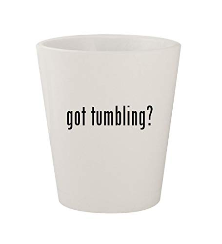 got tumbling? - Ceramic White 1.5oz Shot Glass ()