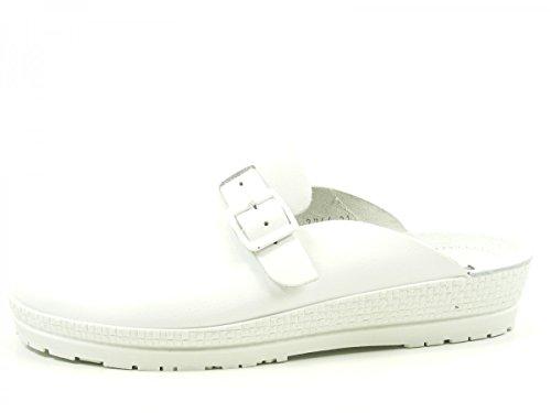 Rohde Neustadt 1447 00, Zuecos para Mujer Beige (blanc)