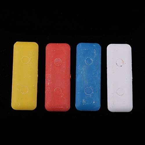Baoblaze 4 unit/à Assortimento di Tessuti su Misura Gesso Modello Marcatura Gesso Cucito