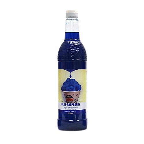 (Beach City Wholesalers Sno-Treat Sno-Kone Syrup RTU - Blue Raspberry 25 oz (1 count))