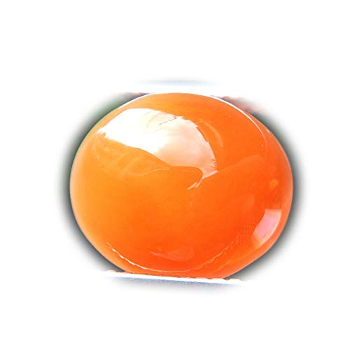 Lovemom 6.21ct Natural Cabochon Unheated Orange Chalcedony Africa #W by Lovemom