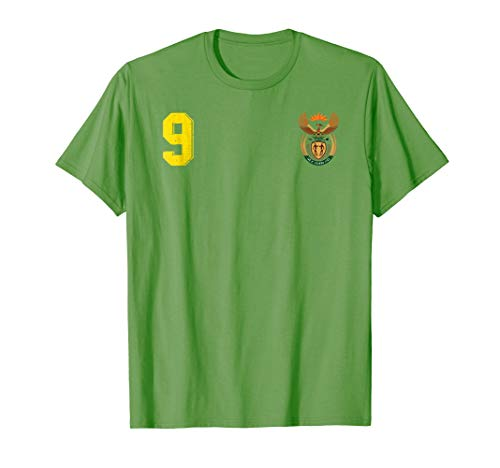 Retro South Africa Soccer Jersey Football T-Shirt Rugby Away (Rugby Boys Club)