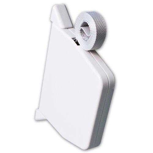 Rolladen Gurtwickler Aufputz schwenkbar inkl. Abdeckkappen und Gurtband 14mm Gurtbreite für Rollladen