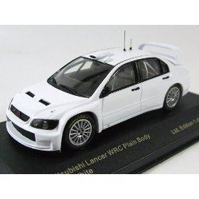 1/43 三菱 ランサー WRC プレーンボディ 2005 (ホワイト) KBI003