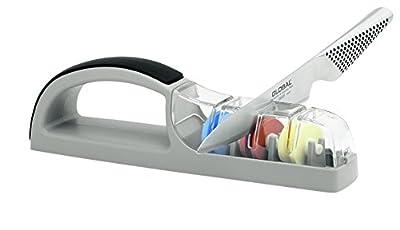 Global 3 Stage Sharpener Minosharp Plus - Gray/Black