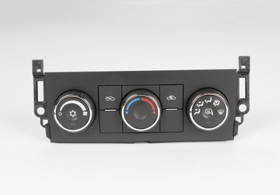 ACDelco 15-74183 GM Original Equipment Heating and Air Conditioning Control Panel with Heated Mirror Switch