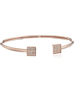 Vintage Glitz Flex Cuff Bracelet