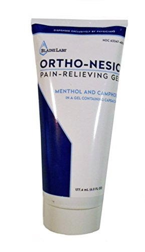 Dr. Blaine's Ortho Nesic Pain Relieving Gel, 6-Ounce Tubes (Pack of 3)