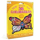 3D Colorables - Dress Up Butterfly Wings