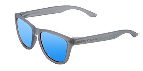 Hawkers One Frozen Grey Clear Blue – Gafas de sol unisex