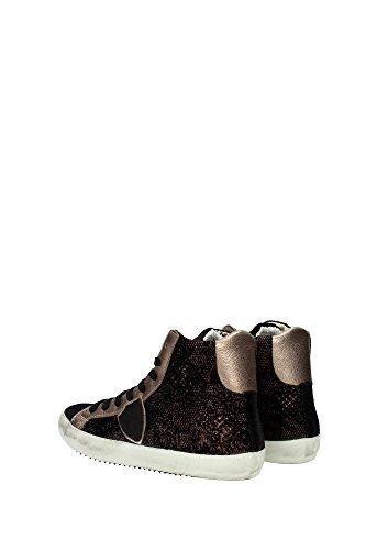 Model Negro CLHDBQ01 Philippe Sneakers Negro Mujer Tejido YcYwp5q7