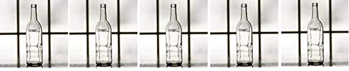 Midwest Homebrewing Supplies 750 ml Clear Glass Claret/Bordeaux Bottles, 12 per case (Fivе Расk) by Midwest Homebrewing Supplies (Image #1)