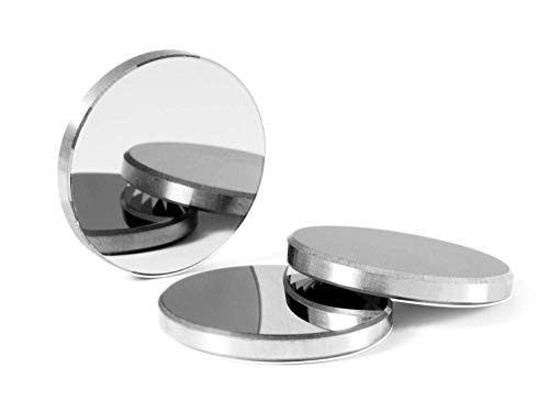 TEH-HIGH 3 pieces Diameter 20mm Molybdenum (MO) Reflector lens for CO2 Laser Cutting engraving machine