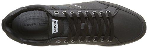 Uomini Levis Turlock Sneaker Nera (noir Nero Regolare)
