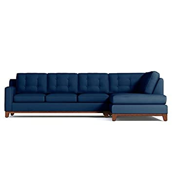Attirant APT2B 645871878435 Brentwood 2 Piece Sectional Sofa, Left Arm Facing,  Blueberry
