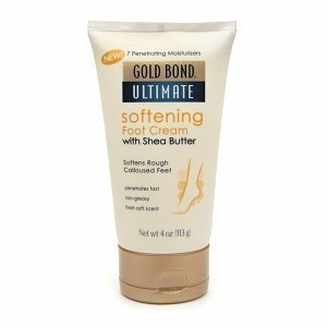 Gold Bond Ultimate Softening Foot Cream with Shea Butter 4 oz. (Pack of 6) ()