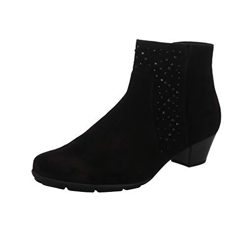 Suede Gabor Shoe 630 Trouser Brady 95 Blk 6qTw40qF