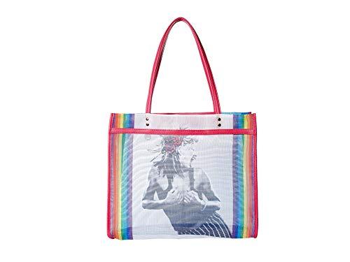 Betsey Johnson Mesh is Fresh Tote, Rainbow