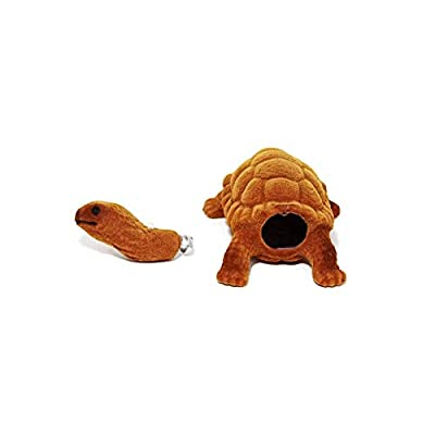 Batty Bargains Amazing Bobblehead Turtle with Car Dashboard Adhesive (Brown): Toys & Games