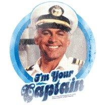 I'm Your Captain -- The Love Boat Adult T-Shirt, X-Large by ABC (Image #2)