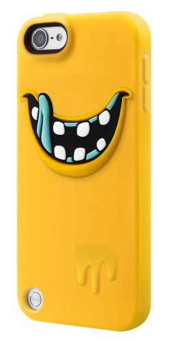 SwitchEasy MONSTERS Silicone Case for iPod Touch 5G, (Freaky Yellow) (Ipod Touch Yellow)
