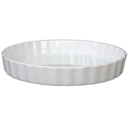 Holst Porzellan TO 171 Quicheform/Tortelett und Tarteform 18 cm rund, weiß, 17.5 x 17.5 x 3.3 cm