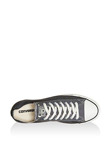 Converse Chuck Taylor All Star Ox - Zapatillas Unisex adulto Gris / Blanco