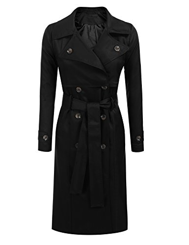 Black Trench Coat - 5