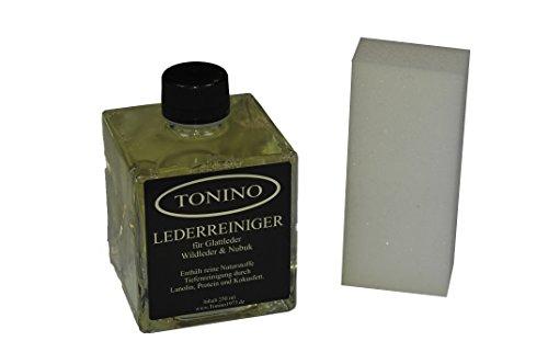 (EUR 7,56/100 ml) Tonino Lederreiniger für Glattleder, Wildleder und Nubuk 250 ml