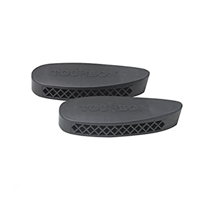 Tourbon Hunting Shooting Gun Stock Recoil Pad Buttpad - Pack of 2 Pieces
