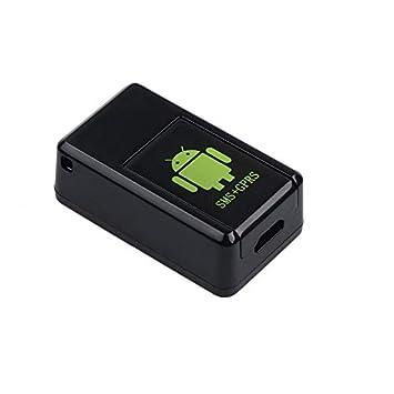 XuBa GPS Mini Localizador de GPS Rastreador en Tiempo Real gsm/Gprs / GPS Dispositivo de Escucha de Coche: Amazon.es: Electrónica