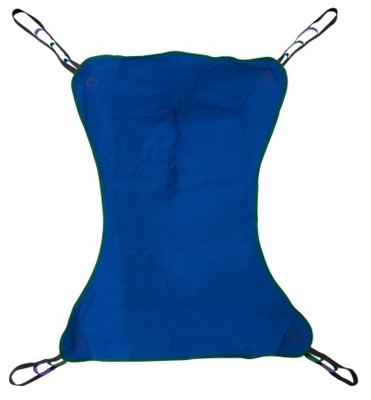Solid Full Body Sling, Patient Lift Sling, Extra Large Size, XL, 4 or 6 Points, 600 lb. Capacity, Without Head Support