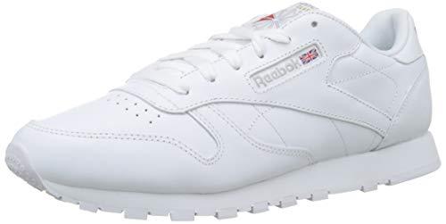 (Reebok Classic Leather Women Sneaker White 2232, Size:39)
