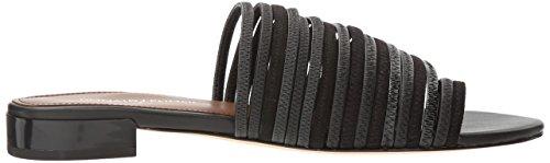 Sandal Pliner Frea J Black Donald Toe Ring Women's nv8dYwx
