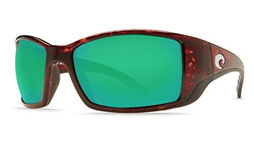 4ab5833f6ad0 Costa Del Mar BL10GFGMGLP FISCH Mens FS 10 OGMGLP Tortoise Green Mirror 580  Glass Sunglasses  Amazon.co.uk  Clothing