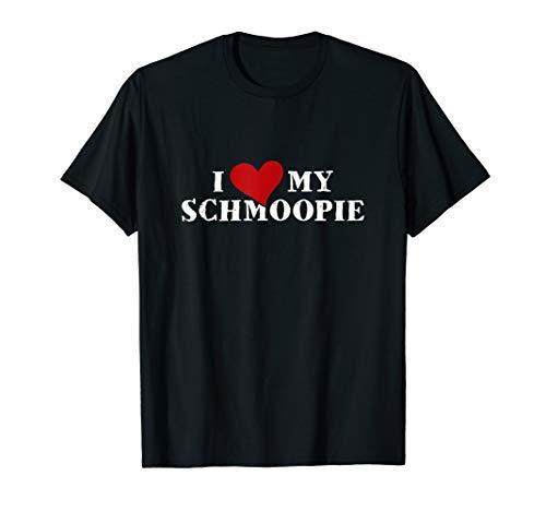 Schmoopie Boyfriend Girlfriend Lovers Pet Name T-Shirt