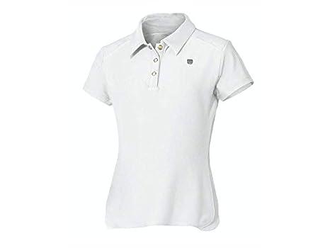 Wilson WRA4214001000XS - Camiseta para niño, Color Blanco, Talla ...